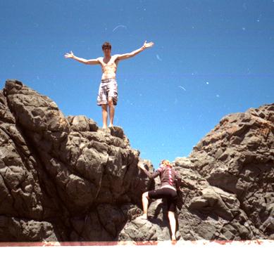 Climbing on Rocks copy